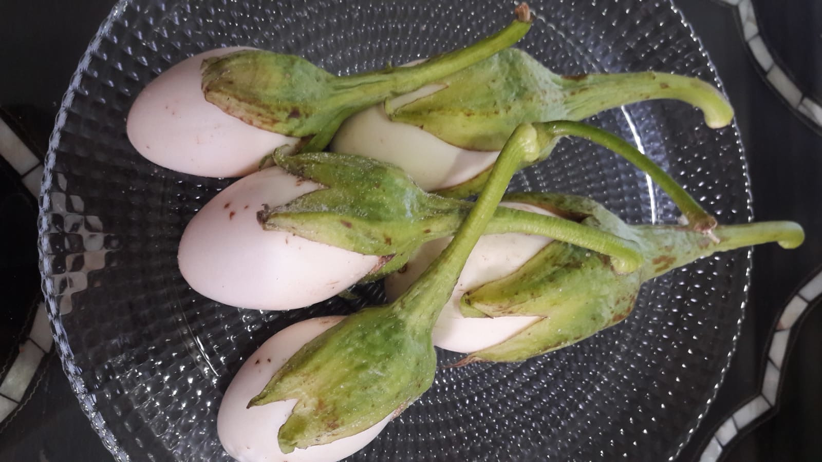 Candied Eggplants in Syrup